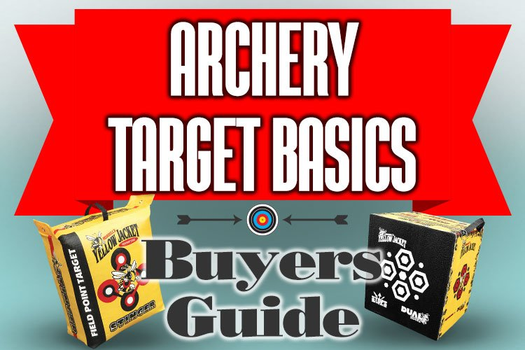 Archery Target Buyers Guide Infographic